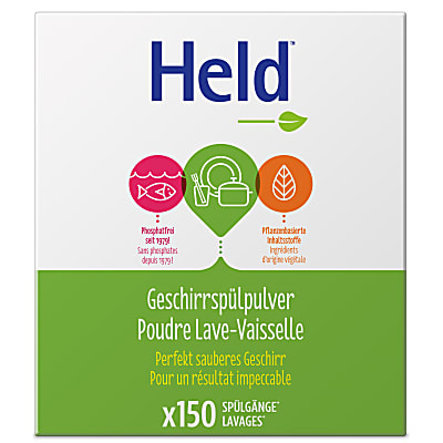 Held by ecover Poudre lave-vaisselle 3kg